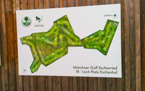 Golfplatz Drohnenaufnahmen