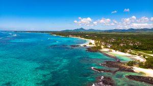Luftbildaufnahme Tourismus